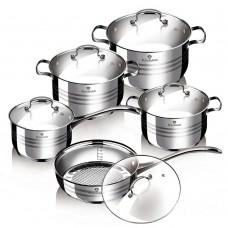 Набор посуды Blaumann Gourmet Line 10 предметов (BL-3163)