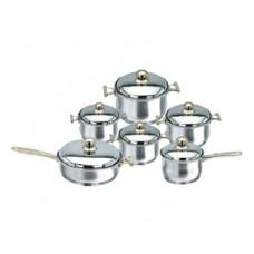 Набор посуды из нержавеющей стали Bergner BG-0444