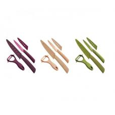 Набор ножей с керамическими лезвиями Bergner BG-4122