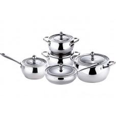 Набор посуды из нержавеющей стали Bergner BG-6535